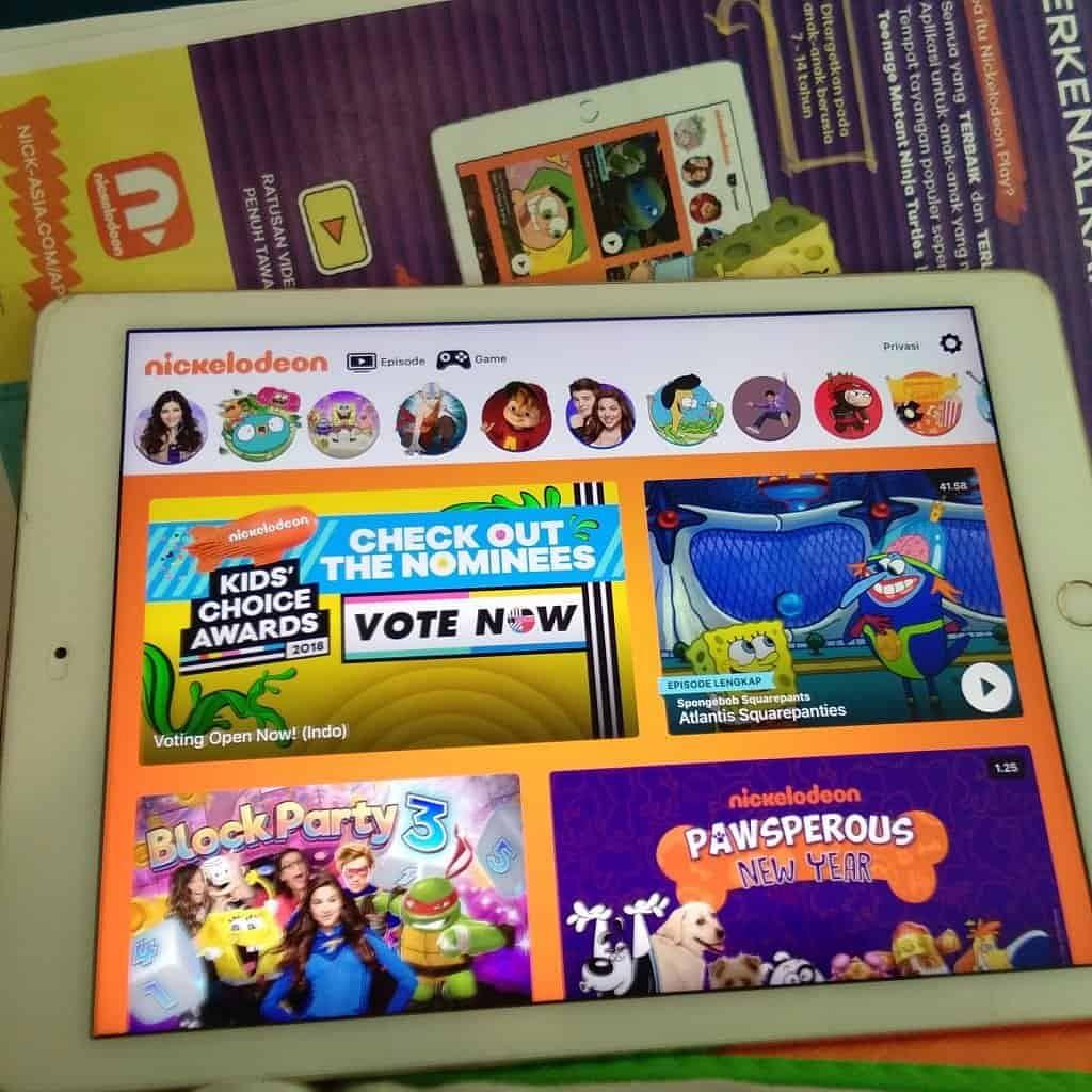 Tayangan Favorit Nickelodeon Kini Bisa Dinikmati Pelanggan