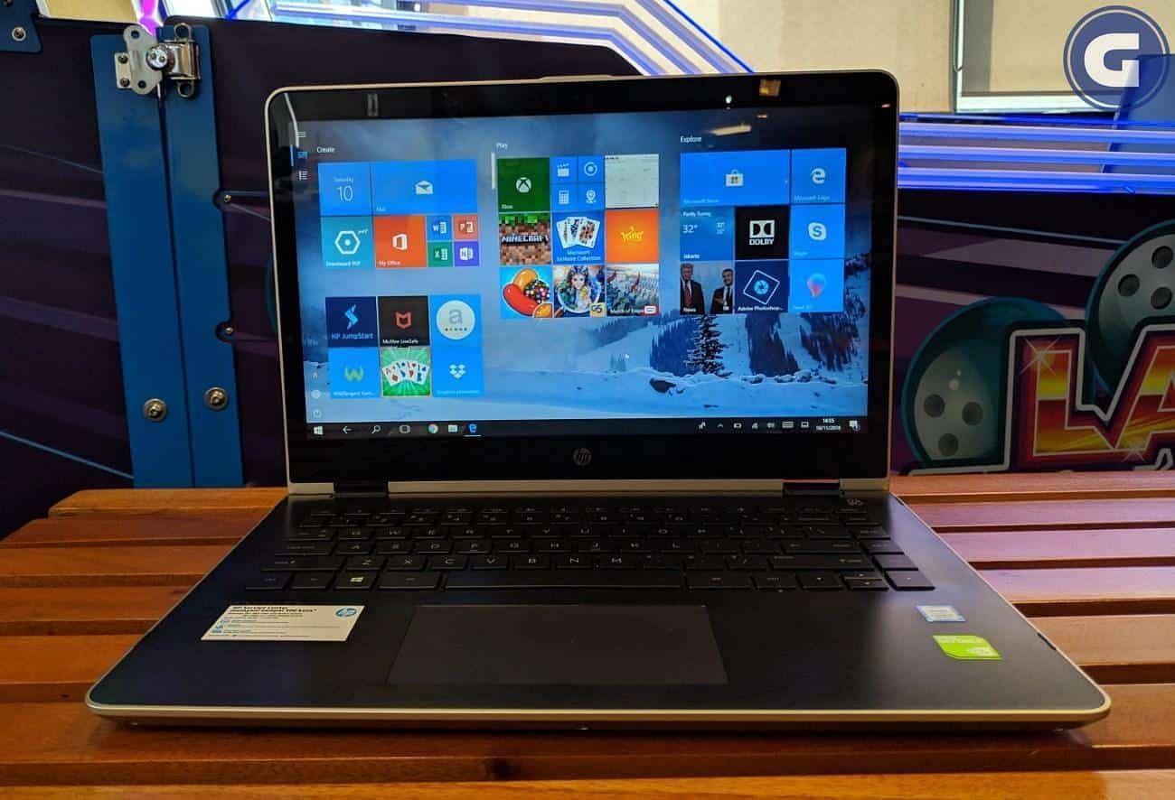Review Hp Pavilion X360 Laptop Bisnis Yang Dinamis Minimalis Gizmologi
