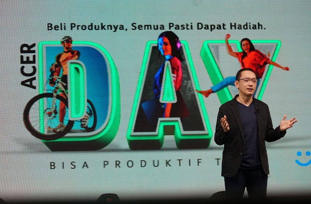 Herbet Ang, President Director Acer Indonesia